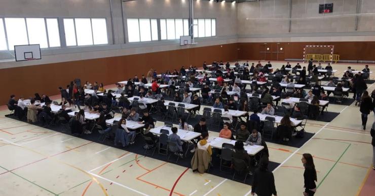 Un examen difícil però assequible a les proves Cangur d'aquest any, segons els alumnes