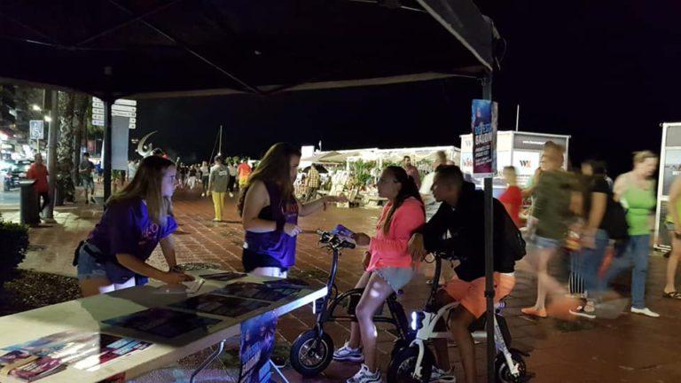 El 'punt lila' torna al Clon Festival d'aquest dissabte a Lloret de Mar