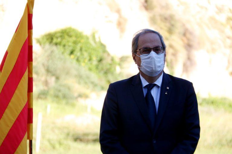 Junts per Lloret, ERC i Força Lloret rebutgen la inhabilitació del president Torra