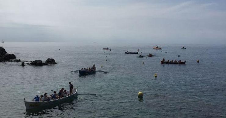 Bones valoracions de l'organització de la regata de rem aquest diumenge a Lloret