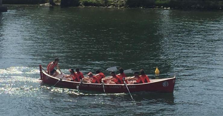 Lloret acull la penúltima regata de la Lliga Catalana de Llaguts, organitzada per Pescadors