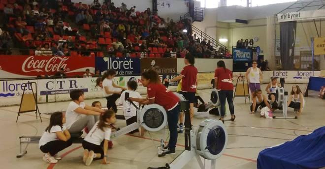 440 alumnes participen al 10è campionat de rem ergòmetre