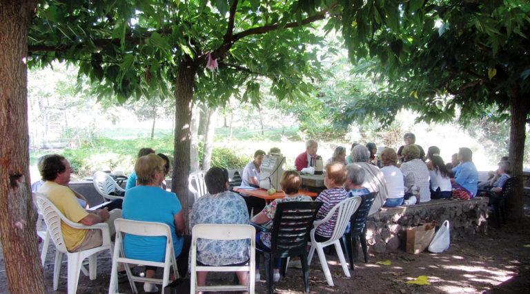 Les àvies remeieres de Les Preses visiten aquest vespre el Club Marina Casinet