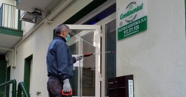 La Residència Continental extrema les mesures de prevenció i reclama a les administracions tests per al personal