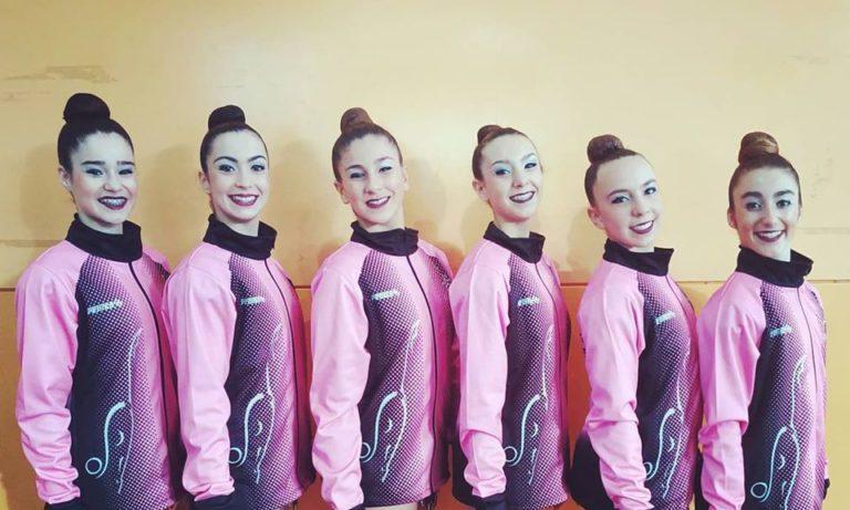 L'Escola Gimnàstica Rítmica Lloret es classifica pel Campionat d'Espanya Copa Base en categoria cadet