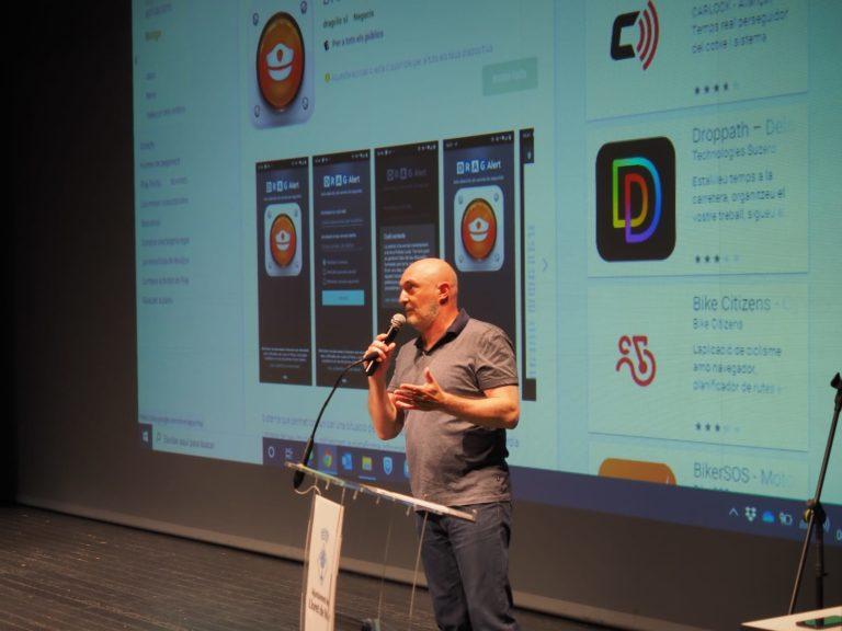 Una app que connecta comerciants i restauradors amb la policia de Lloret en cas de robatori