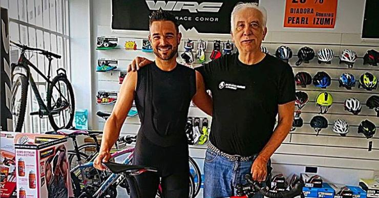 Rubén Aragón es prepara des de casa per al Mundial d'Ironman del proper novembre