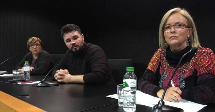 Gabriel Rufián assegura, a Lloret, que el referèndum es farà aquest any