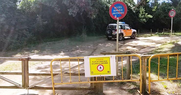 L'Ajuntament informarà de l'aforament de les platges