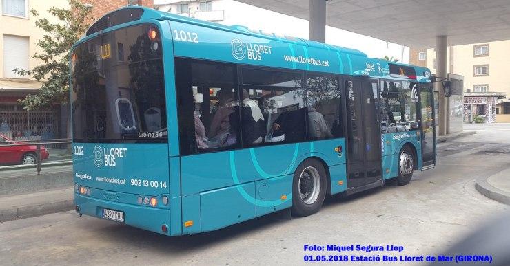 La Línia 2 de transport urbà amplia l'horari fins a les 19.10 hores