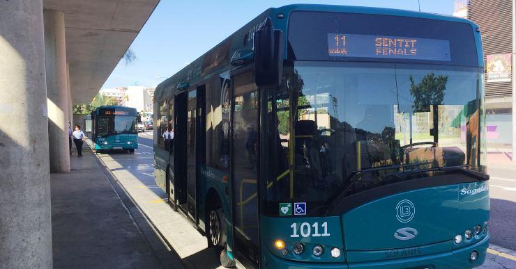Els usuaris del transport urbà de Lloret puntuen el servei amb un 8,6 sobre 10