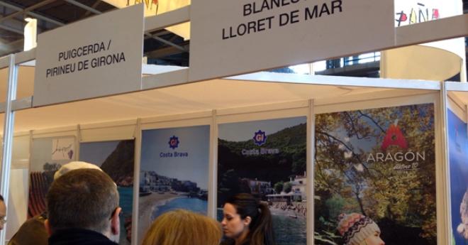 La destinació es promociona a París, davant de públic final