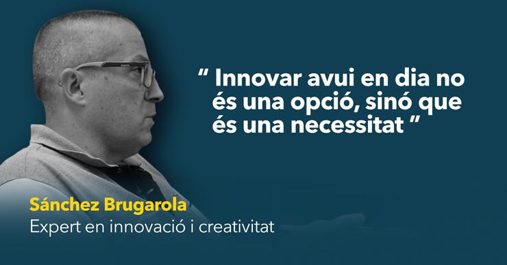 Sánchez Brugarola defensa la necessitat d'innovar i apostar pel canvi en una xerrada al Puntet