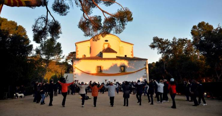 L'Obreria de Santa Cristina celebra les festes amb un concert i les sardanes a l'alba