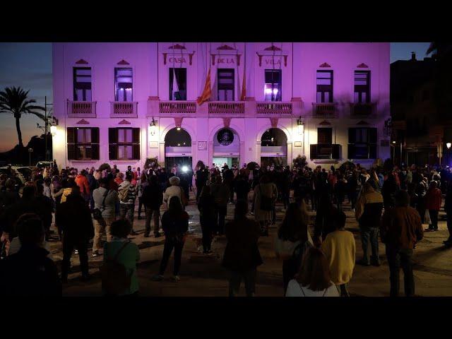 Minut de silenci a Lloret de Mar per condemnar el crim masclista