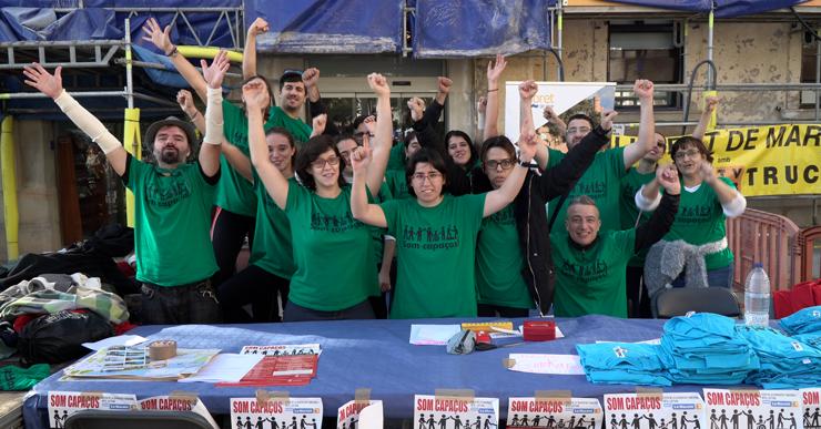 Acollida excel·lent de la primera festa 'Som Capaços' per commemorar el Dia Mundial de la Discapacitat