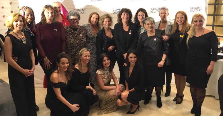 El sopar de dones solidàries recull més de 10.000 euros contra el càncer de mama