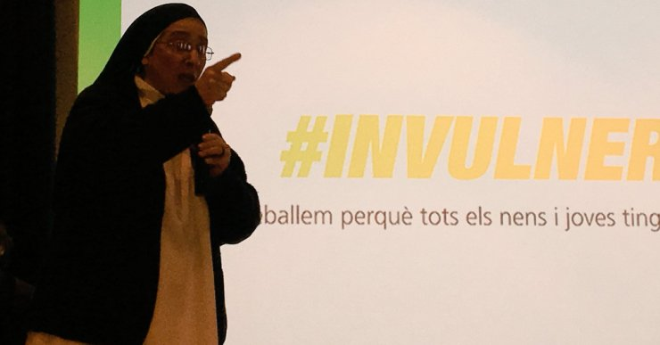 Sor Lucía Caram ve a Lloret a explicar als empresaris com va Invulnerables
