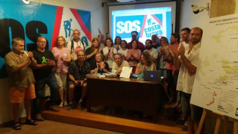 Es constitueix la plataforma SOS Costa Brava, per defensar el litoral i boscos del territori gironí