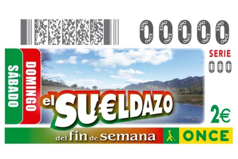 L'ONCE reparteix a Lloret el 'Sueldazo' de 2.000 euros al mes durant 10 anys
