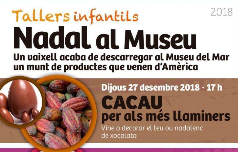 El cacau, el sucre i el cotó centren els tallers infantils que comencen avui al Museu del Mar