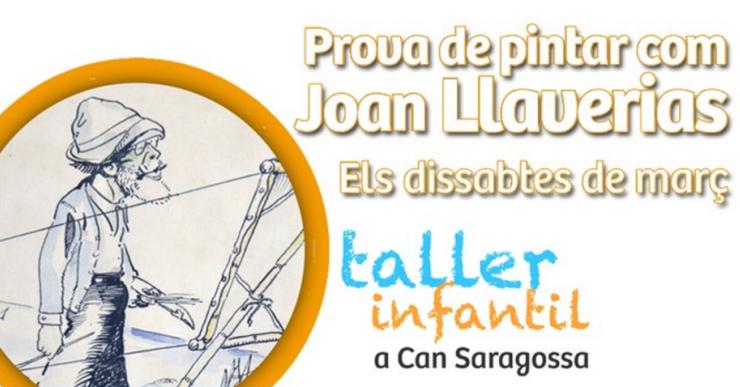 Un taller infantil ensenyarà els nens la tècnica del pintor Joan Llaverias