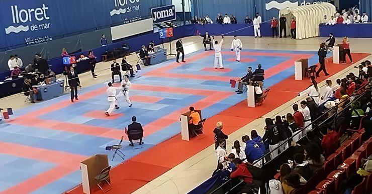 Nou tatami de 440 metres quadrats per als clubs que practiquen arts marcials