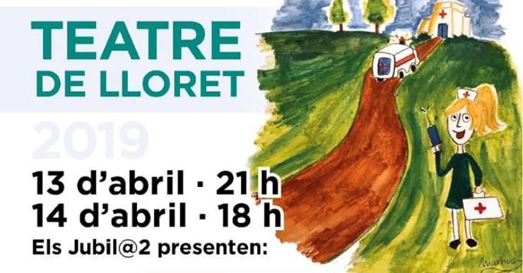 Jubil estrena aquest cap de setmana la comèdia 'Urgències' amb dues sessions