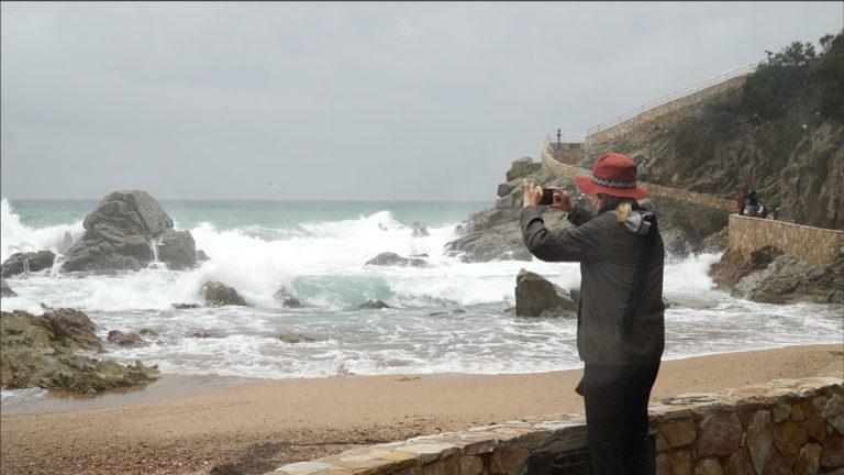 El temporal marítim arriba a Lloret