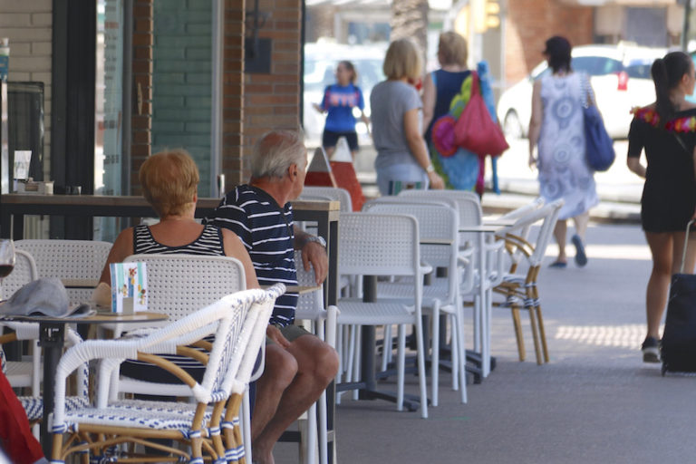 Les terrasses de bars i restaurants a Just Marlés i voltants podran ser fixes tot l'any