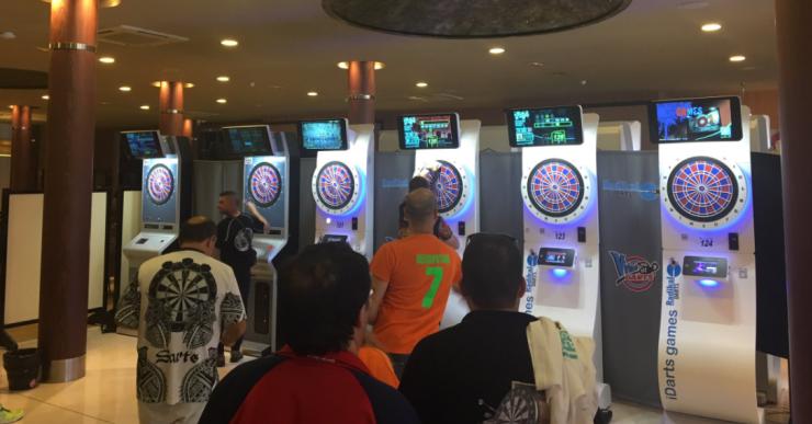 Bones valoracions del campionat estatal de dards disputat a Lloret