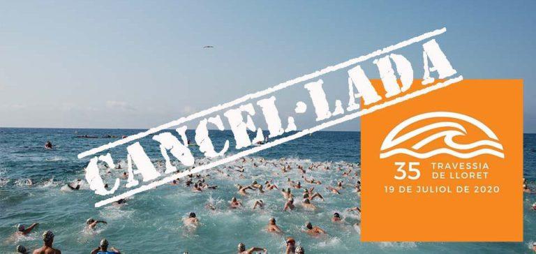 El Club Natació Lloret suspèn la 35a Travessia de Lloret, programada pel 19 de juliol, a causa de la pandèmia
