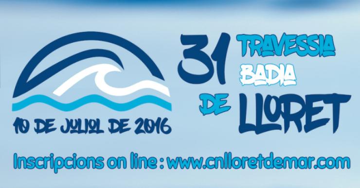 Aquest diumenge se celebra la travessia nedant a la badia de Lloret