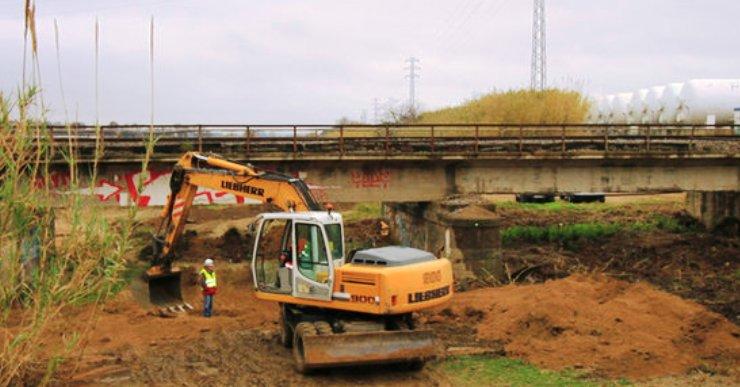 El pont de la línia R1 entre Blanes i Malgrat de Mar tardarà 10 mesos a estar arreglat
