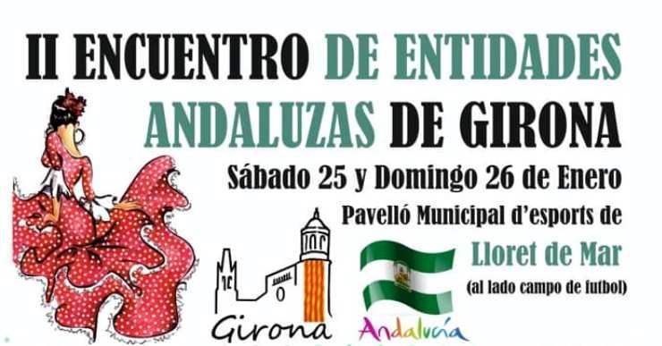 Lloret de Mar acull la segona trobada d'entitats andaluses de les comarques gironines