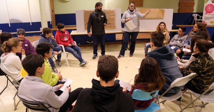 80 delegats de Segon d'ESO de la comarca de la Selva es trobaran al febrer