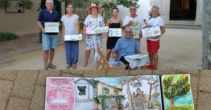 Lloret de Mar serà el primer municipi en acollir una trobada d'sketchers de cap de setmana