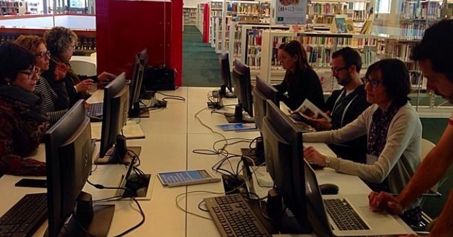 La biblioteca de Lloret afegeix entrades d'autors i tradicions locals a la Viquipèdia