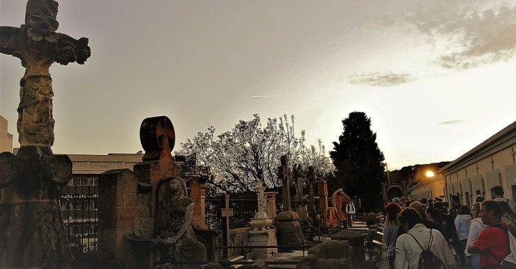 Torna la visita 'Cementiri d'ànimes' els divendres de juny