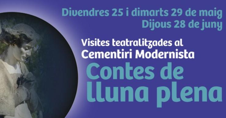 El cementiri ofereix visites teatralitzades amb motiu de la Setmana Europea dels Cementiris