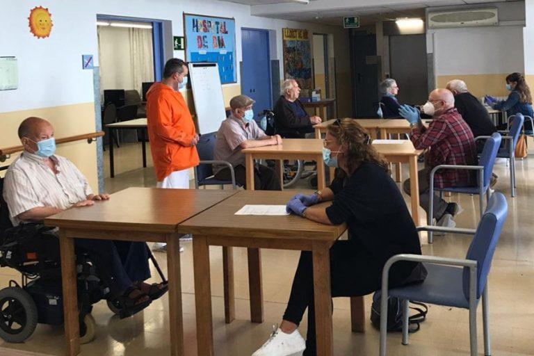 Es reprenen les visites al Sociosanitari amb els pacients que no tenen la Covid-19