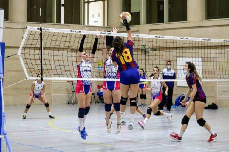 Derrota del Voleibol Lloret en el primer partit de la fase d'ascens a Primera Divisió