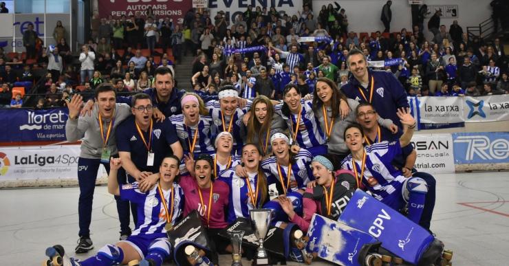El Voltregà guanya la Copa de la Reina d'hoquei patins disputada a Lloret