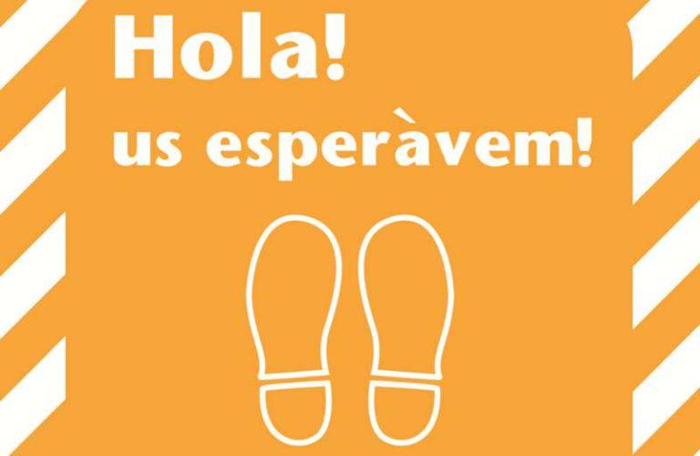 """""""Hola, us esperàvem"""", la campanya que impulsa el comerç i la restauració a Lloret de Mar"""