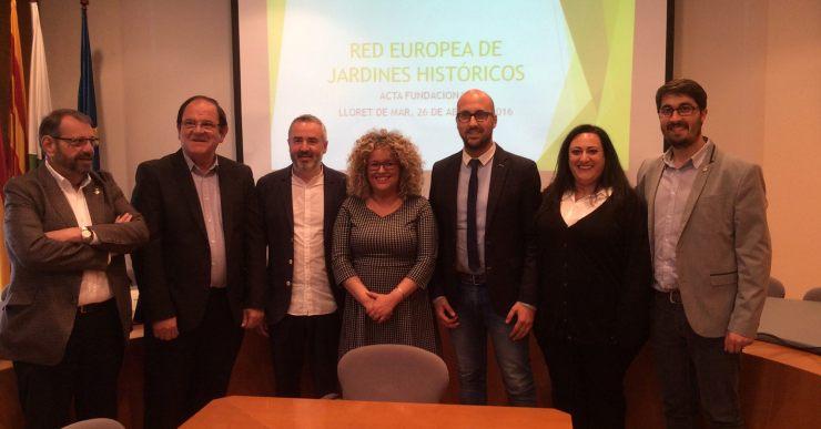 Lloret rep formació per a la xarxa europea de jardins històrics