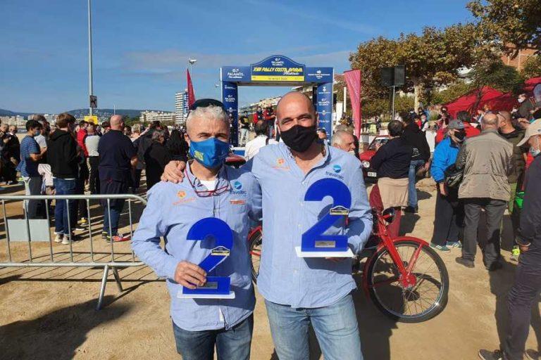 Jordi Martí i Xavi Tibau acaben segons en el Rally Costa Brava Històric