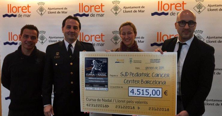 L'Ajuntament atorga els 4.515 euros de la Cursa de Nadal a la campanya #pelsvalents