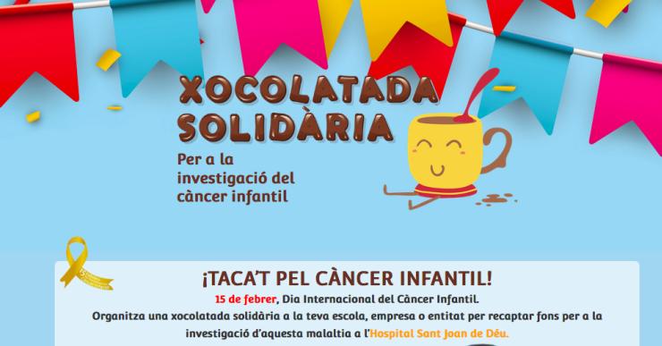 La Lola Anglada i Els Pops se sumen a la campanya 'Xocolatada solidària' contra el càncer infantil