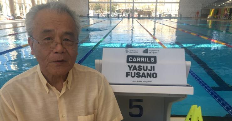 Mor per coronavirus en Yasuji Fusano, qui va ensenyar a nedar molts lloretencs