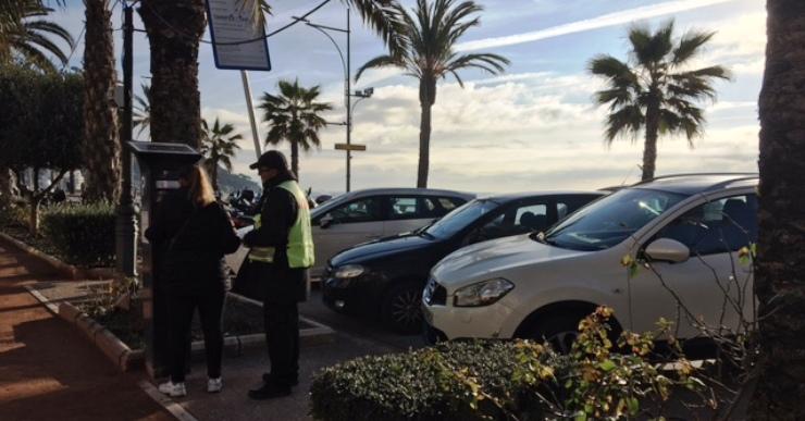Avui s'activen la zona blava del passeig marítim i l'aparcament de Sa Caleta